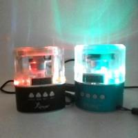 Wholesale LED Flash Color at Night Atmosphere Perfect Design Mini Speaker #DBJ-35A from china suppliers