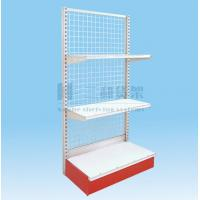 Wholesale OEM Plastic 3 Tier Storage Single-Sided Supermarket Shelf from china suppliers