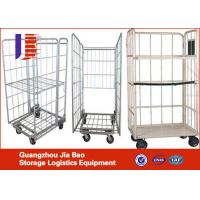 Wholesale Customized Four Wheel Steel Roller Storage Containers For Industry from china suppliers
