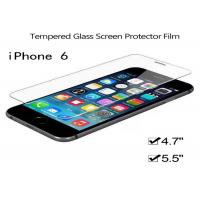 Wholesale 99% Transperancy High Clear Tempered Glass Screen Protectors Film For Iphone 6 from china suppliers