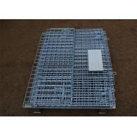 Wholesale Stackable Steel Galvanized Metal Wire Mesh Container For Storage from china suppliers