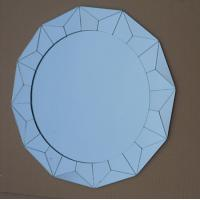Wholesale small squares glass mirror round bathroom art silver mirrors spell mirror from china suppliers
