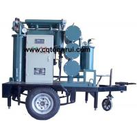 Buy cheap ZJL Multi-Function Transformer Oil Regeneration Plant with Trailer from wholesalers