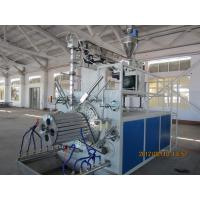 Wholesale PLC control Hollow Wall Pipe Winding Machine 240kw , Plastic Pipe Extrusion Line from china suppliers