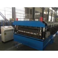 Wholesale Chain Drive Double Layer Roll Forming Machine / Roll Former With Manual Decoiler from china suppliers