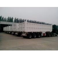 Wholesale 2 / 3 Axles 60T Playload Semi Dump Trailer Truck For Transport Coal Colorful from china suppliers