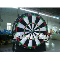 Wholesale Superb Spiele Inflatable Soccer Dart Board Commercial 0.55mm PVC Tarpaulin from china suppliers