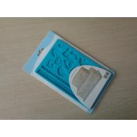 Wholesale Recycled Blue Heart Resist Silicone Baking Moulds With Non-sticking from china suppliers