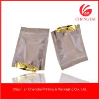 Wholesale General use Resealable Stand Up Packaging Bags / Pouches One side transparent from china suppliers