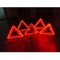Buy cheap LED warning triangle Emark / LED triangle warning sign manufacture offer from wholesalers