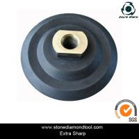 Wholesale 80mm rubber flexible polishing backer pads for air grinder from china suppliers