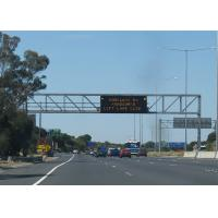 Buy cheap Totally Enclosed Variable Messaging System , P33.3 4R2G1B Highway Traffic Board Large View Angle from wholesalers