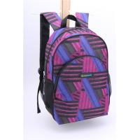 Wholesale Personalized Girls Day Polyester Backpack Purple Double Shoulder For Work from china suppliers