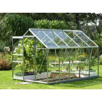 Quality 6mm Clear toughened greenhouse glass panel for plant , flat tempered glass for sale