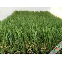 Wholesale 3 / 8'' Gauge PE + PP Material Flat Garden Artificial Grass For Exhibition from china suppliers