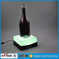 Wholesale Manufacturer supplies exquisite led acrylic wine display from china suppliers