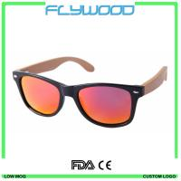 Buy cheap Bamboo Sunglasses With Colourful Frame TAC Revo Polarized Sunglasses Bamboo Pins Or Arms Sunshades from wholesalers