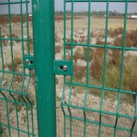 Wholesale 2014 hot sale fence with double wire edges(factory price) from china suppliers