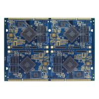 Wholesale FR4 Electronics Air Conditioner Part PCB Multilayer Board Blue Soldermask from china suppliers