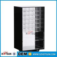 Wholesale Wholesale Competive Price acrylic Black Spinning Makeup Organizer from china suppliers
