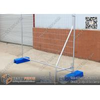 Wholesale Australia 2.1X2.4m Temporary Fence Panel with Plastic Feet | 42μm Gal. | China Temporary Fence Supplier from china suppliers