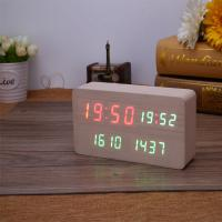 Wholesale Islamic High Class Prayer Time Azan Clock with TF Card 8 GB from china suppliers