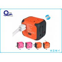Wholesale OEM Color Dual Port USB Travel Adapter Charger All In One Multi Function Plug Socket from china suppliers