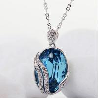 Wholesale Ref No.: 105043 Mysterious gem mothers day necklace with birthstones jewellery designs early jewelry from china suppliers