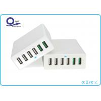 Wholesale Qualcomm Certified QC 3.0 Quick Charge 6 Port USB Charger for Smartphones Tablets from china suppliers