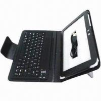 Wholesale Bluetooth/Wireless Keyboard with USB 2.0 ABS with PU Leather Case for Samsung  from china suppliers