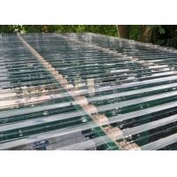 Wholesale Transparent Corrugated Polycarbonate Sheets For Roof Covering 0.8 - 1mm Thickness from china suppliers