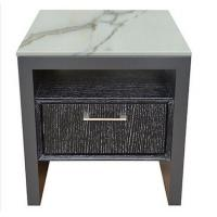 Wholesale High end 5-STAR stone top oak wooden night stand /bed side table, casegoods,hotel furniture NT-0089 from china suppliers