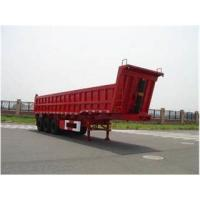 Wholesale Three Axles Hydraulic Dump Truck Trailer Tipper Semi Trailer 60 - 80 Tons from china suppliers