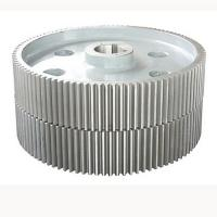 Wholesale Alloy Steel Machined Spur Gears , Large Low Speed Gearbox Gears from china suppliers