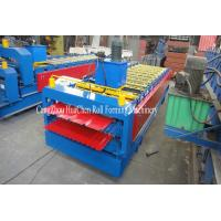 Wholesale Roof Wall Double Sheet Roll Forming Machine Panasonic Omron Encoder from china suppliers