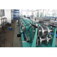 Quality Post Cutting Interchangeable CZ Purlin Roll Forming Machine 7.5KW 5 Ton Decoiler for sale