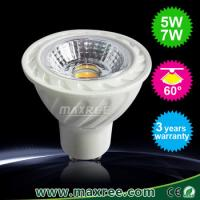 Buy cheap COB gu10,led gu10,7W cob bulb,led gu10,gu10 led,led spot,led spotlights,5w cob led,spotled from wholesalers
