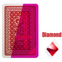Wholesale Gambling Italian DAL Negro Invisible Playing Cards Poker Games from china suppliers