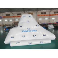 Wholesale Inflatable iceberg with factory Kids size climbing mountaion for water game from china suppliers
