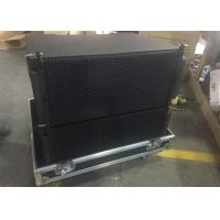"Wholesale Black Color Three - way Compact 2 x 10"" Line Array Speakers with Titanium Compression from china suppliers"