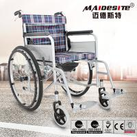 Wholesale Easy Folding Design Lightweight Manual Wheelchair 130kg Load Capacity from china suppliers