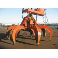 Wholesale Clamshell Hydraulic Orange Peel Grab Bucket Leakproof For Excavator / Crane from china suppliers