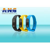 Wholesale Sport Smart Silicone Rfid Wristbands Bracelet Motion Planning Mileage Record from china suppliers