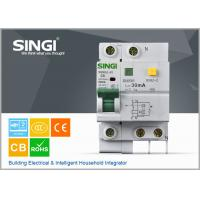 Wholesale 6KA 230V Singi Residual Current Circuit Breaker , mccb circuit breaker from china suppliers