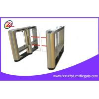 Wholesale RFID magnetic card Pedestrian Manual Turnstile Swing Barrier Gate for Bank from china suppliers