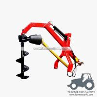 Wholesale PHDPH - Tractor 3point Hydraulic Post Hole Borer with different sizes Augers available from china suppliers