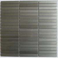 Wholesale Brick Look Strip Metal Kitchen Wall Tiles, Stainless Steel Mosaic Tiles from china suppliers