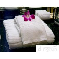 Wholesale Dry Fast Premium Cotton Face Washer Towel Cloths For Hotel , Environmental Friendly from china suppliers