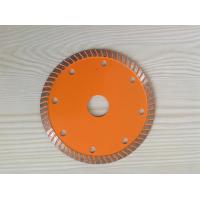 Wholesale 115mm Diamond turbo saw blade professionally for tiles from china suppliers