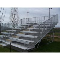 Wholesale Aluminium Mobile Portable Indoor Bleachers , Heavy Duty Outdoor Bleacher Seating from china suppliers